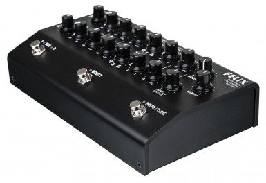 Grace Design FELiX-BK Studio Quality 2 Channel Instrument & Mic Preamplifier / Blender / EQ