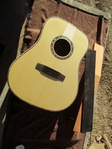 Incoming Musser Dreadnought, The Tree Mahogany/Colorado Blue Spruce