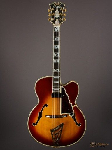 1982 Gibson D'Angelico #2166S, Maple/Spruce
