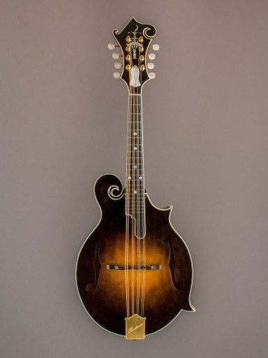 2002 Henderson F-5 Mandolin, Flamed Maple/Spruce