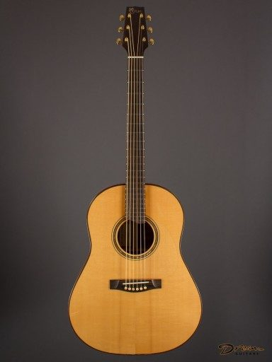 2002 McCollum Slope D Prototype The Tree Quilted Mahogany/Adirondack Spruce