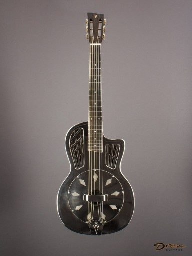 2006 Ron Phillips Parlor Resonator, German Silver