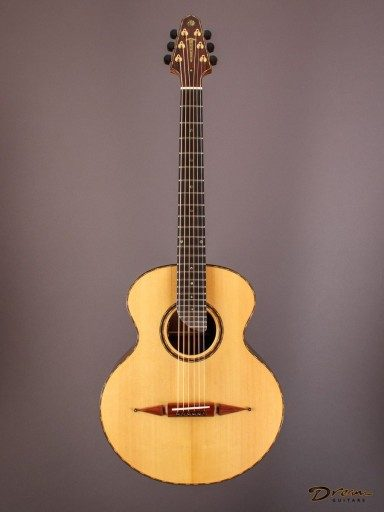2006 Rick Turner Compass Rose, Indian Rosewood/Spruce
