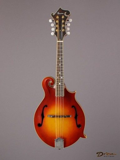 2008 Larry Brown F Mandolin, Maple/Spruce