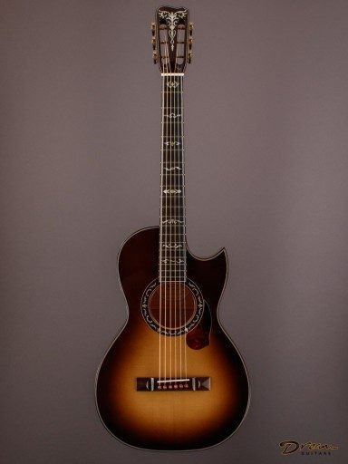 2010 Stephen Kinnaird P-1c, Figured Maple/Engelmann Spruce