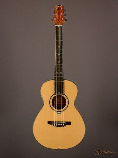 2010 Tippin Staccato, Pink Ivory/Port Orford Cedar