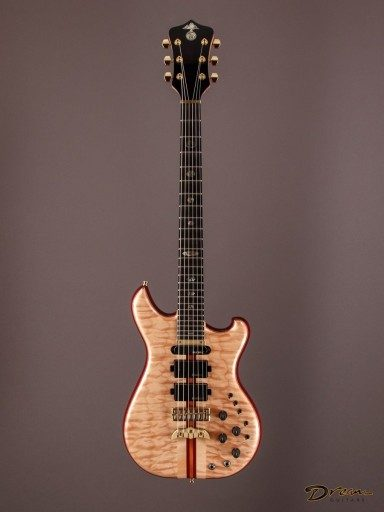 2011 Alembic Further, Purpleheart/Quilted Maple