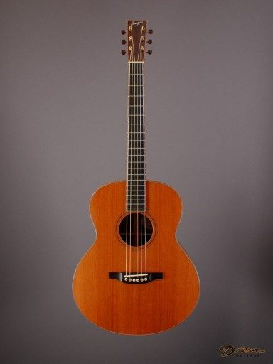 2011 Bourgeois SJ Custom, Madagascar Rosewood/Redwood
