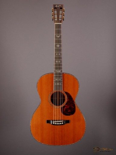2012 Bourgeois Custom OMS, Koa/Redwood