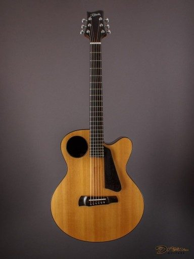 2014 Ribbecke Halfling Pin Bridge Archtop, Indian Rosewood/Sitka Spruce