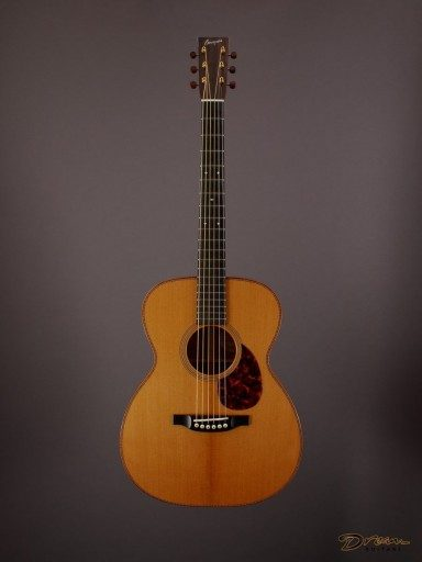 2015 Bourgeois Custom DB Signature OM, Figured Koa/Croatian Spruce