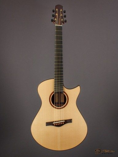 2015 Fay Model One, Brazilian Rosewood/German Spruce