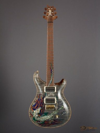 2015 PRS Custom 24 Retro/30th Anniversary Dragon Limited