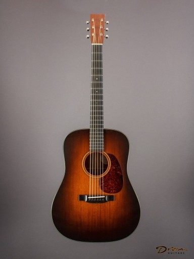 2016 Bourgeois D Fully Torrefied AT, All-Mahogany