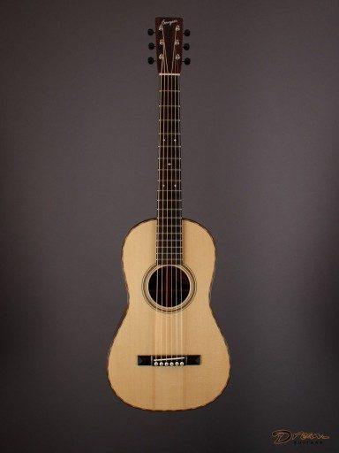 2016 Bourgeois Victorian Piccolo Parlor, Brazilian Rosewood/Adirondack Spruce