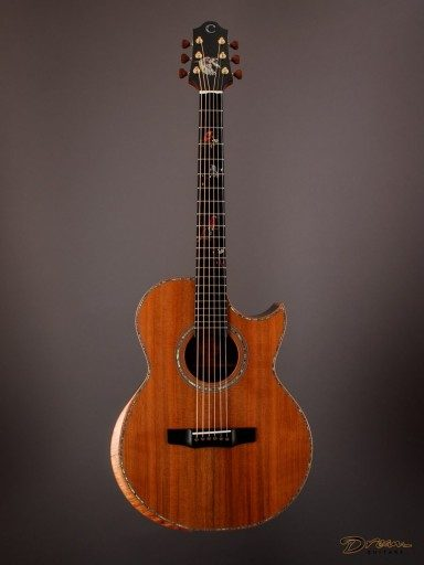 2016 Charis SJ, Indian Rosewood/Sinker Redwood