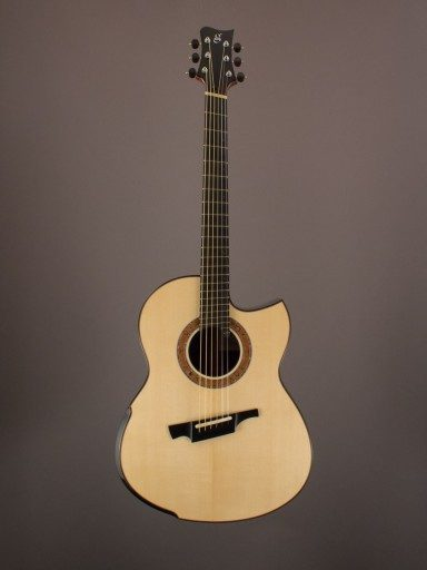 2018 Greenfield G2, Malaysian Blackwood/Alpine Moonspruce