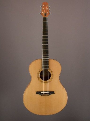 New Indian Hill Concert, Mahogany/Torrefied Sitka Spruce