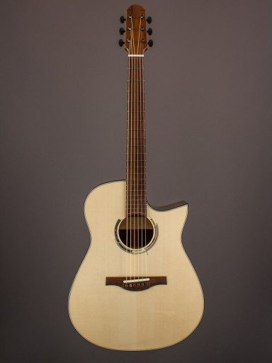 New Kraut Modified Dreadnought, Madagascar Rosewood/Swiss Moonspruce