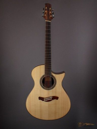 2018 McConnell 16 Inch, Brazilian Rosewood/Moonspruce