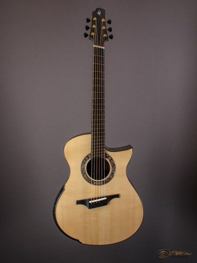 New Halland DC-H, African Blackwood/European Spruce