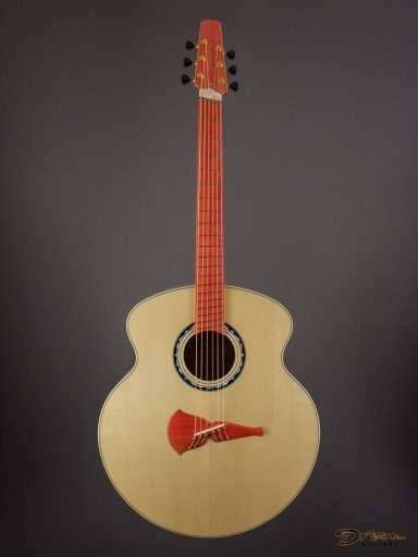 New Klein 457 Custom, Flame Maple/Sitka Spruce