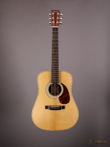 Brand New Larry Brown 3/4 Dreadnought, Pau Ferro/Adirondack Spruce