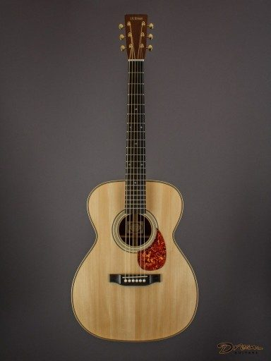 Brand New Larry Brown OM-28, Indian Rosewood/Adirondack Spruce