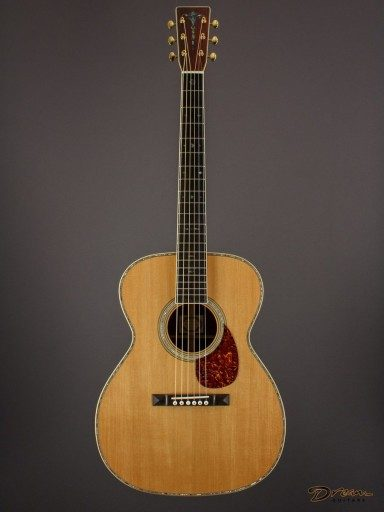 Brand New Larry Brown OM-40, Brazilian Rosewood/Adirondack Spruce