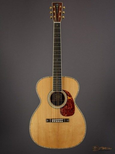 Brand New Larry Brown OM-40, Indian Rosewood/Adirondack Spruce