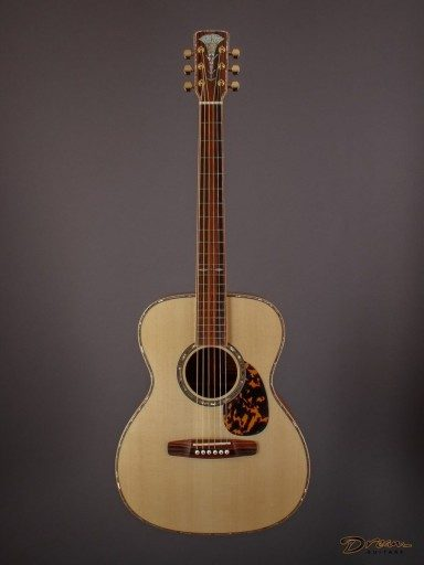 Brand New Musser OM, The Tree Mahogany/Engelmann Spruce