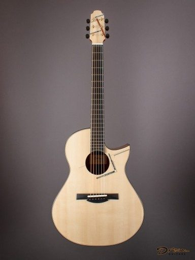 Brand New Spohn MD-C, Quilted Sapele/Swiss Moonspruce