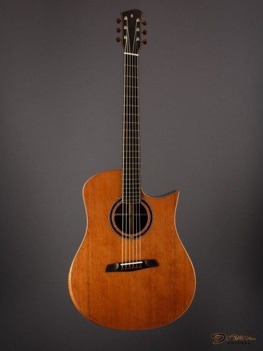 Brand New Wilborn WarHorse Modified Dreadnought, Brazilian Rosewood/Tunnel 14 Redwood