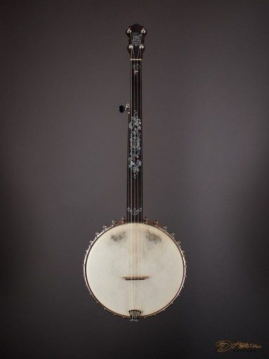 "Brand New R.M. Anderson 12"" Dobson-Style Fretless Banjo"