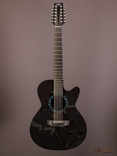 Brand New Rainsong BI-WS3000 12-String, Carbon Fiber, Black Ice Series