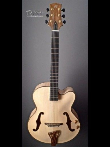New Applegate Archtop Flamed Maple/European