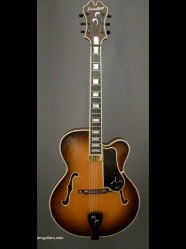 1978 Benedetto Slim Body 17 First Ever Made! Maple/Spruce