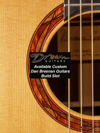 2020 Dan Bresnan Guitars Build Slot