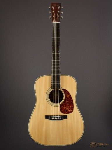 New Brown D-28, Pau Ferro/Adirondack Spruce