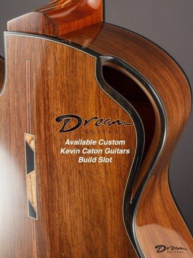 2021 Kevin Caton Guitars Build Slot
