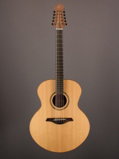 New Dammann Mandocello Guitar, Osage Orange/Sitka Spruce