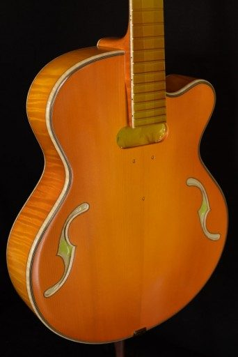 Incoming Tad Brown CC Gold, Red Maple/Adirondack Spruce