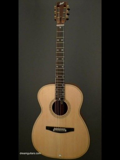 Lehmann Model 2000 Koa/Adirondack Ribbed Back Design