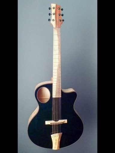 New Martin Keith Auriole Curly Maple/Sitka