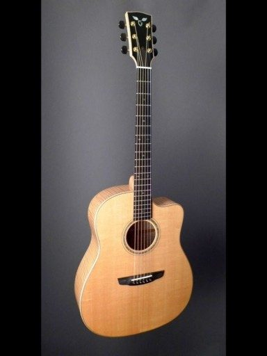 2007 Goodall MSC Curly Maple/Sitka