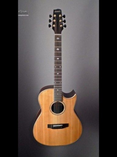 2005 Langejans RGC6 Indian/Cedar Rosewood Neck
