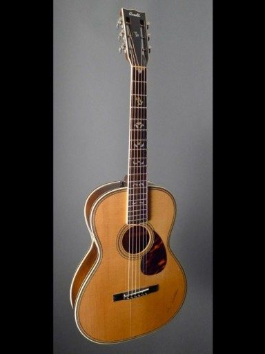 1991 Arnold Jimmie Rodgers Weymann Special Mahogany/Adirondack (Red)