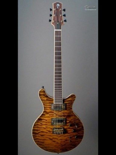 Myka Custom Electric Mahogany/5A Quilted Maple