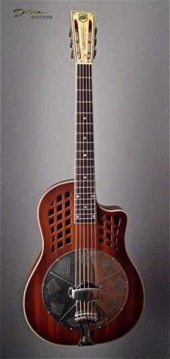 New National ResoRocket Mahogany Single Cone