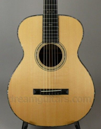 Adirondack Red Spruce Top, 42 Style Inlays